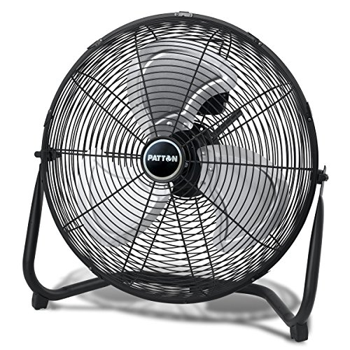 Metal Fan - Patton PUF1810C-BM 18-Inch High Velocity Fan