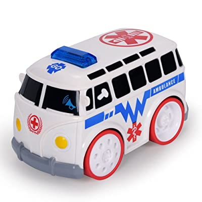 NextX Baby Touch and Go Racer Car Ambulance Toddler Toy with Light& Sound for Boys and Girls