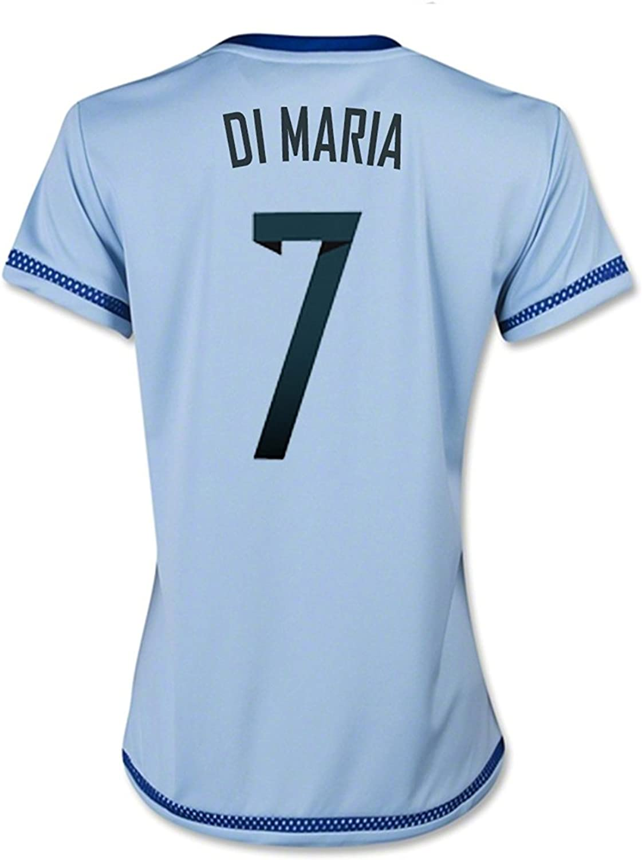 DI MARIA #7 Argentina Home Soccer Jersey 2015 (WOMEN)