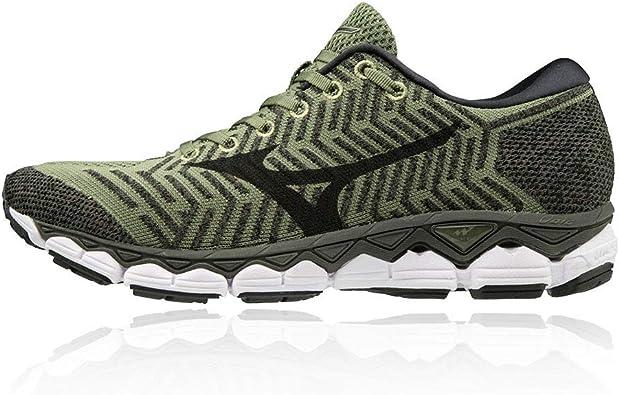 Mizuno Waveknit S1 Neutralschuh Herren-Oliv, Khaki, Zapatillas de Running Calzado Neutro para Hombre: Amazon.es: Zapatos y complementos