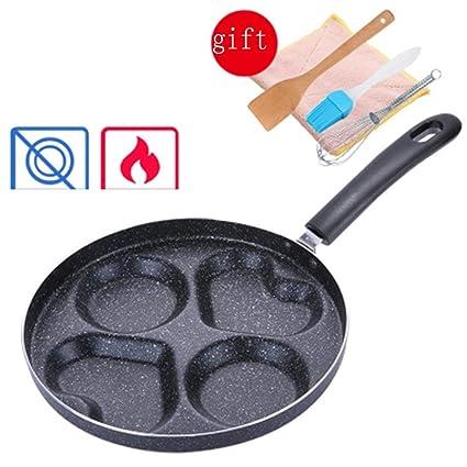 FIXD [0A04 Hogar Wok/Olla de Cocina, sartenes sartén Pan ...