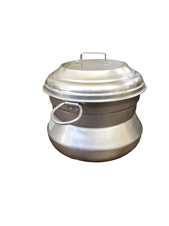 Authentic Kerala Style Aluminum Idli Maker - 15 Idlis