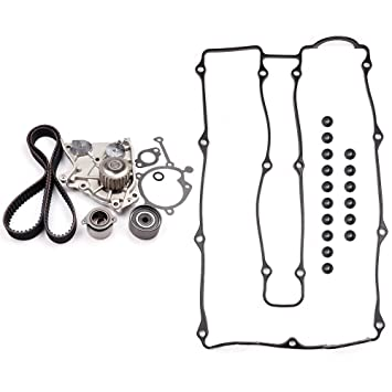 SCITOO Engine Timing Belt and Head Gasket Kit Fits 2004-2007 Chevrolet Optra 2.0L 1998CC 122Cu l4 Gas DOHC Naturally Aspirated in