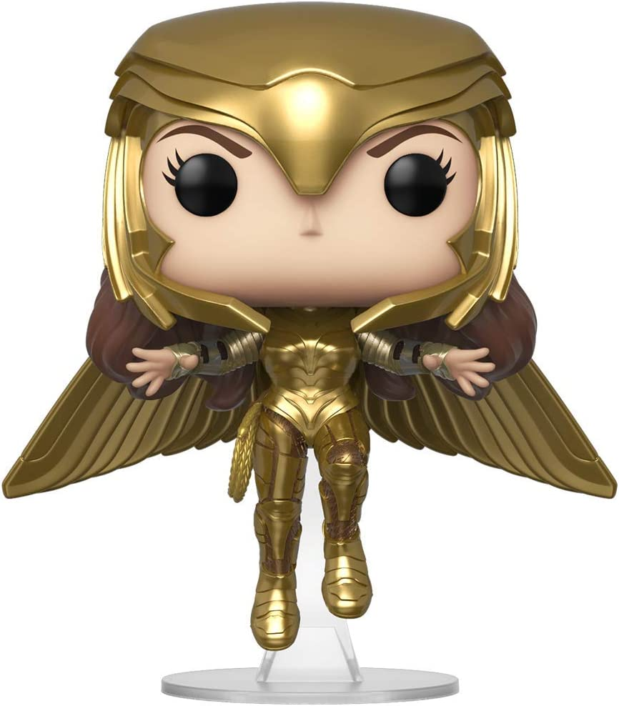 Pop!: Wonder Woman 1984- Wonder Woman (Gold Flying Pose)