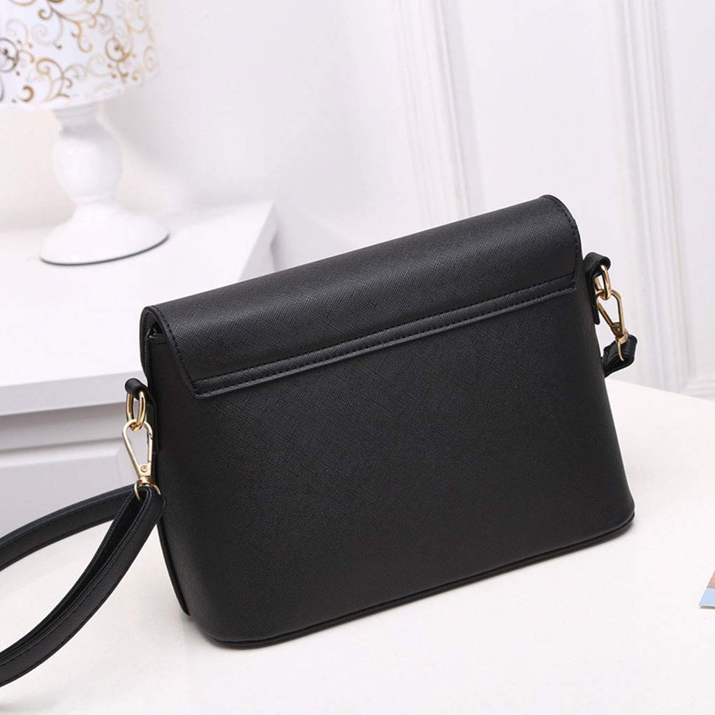 Yeahii New Fashion Women Shoulder Bag Lady Leather Handbags Crossbody Messenger Satchel Tote Bags