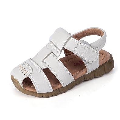 Eagsouni Sandales Bout Fermé Mixte Enfant, Beach Sandales Filles Doux Mode  Chaussure Garçons Sandales en