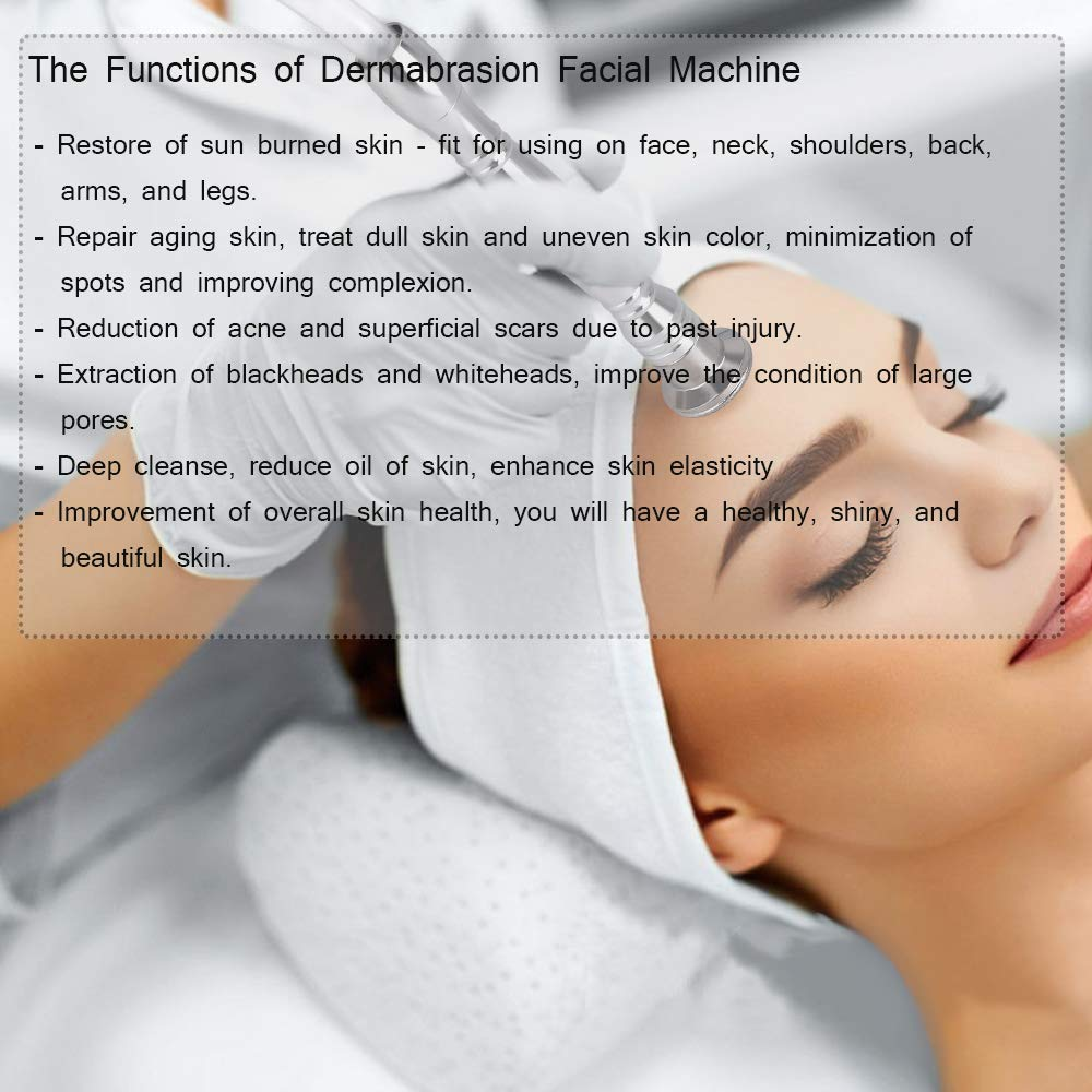 MYSWEETY Professional Diamond Microdermabrasion Machine