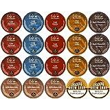 20-count CAFE ESCAPES K-Cup Variety Sampler Pack, Single-Serve Cups for Keurig Brewers