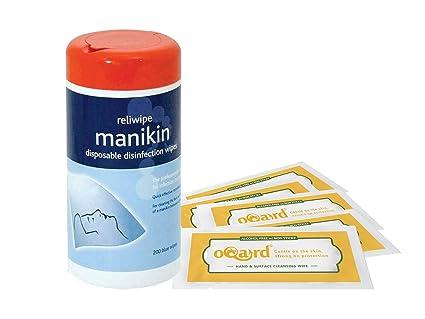 Reliance – Maniquí toallitas con oqard libre de alcohol toallitas antibacterianas