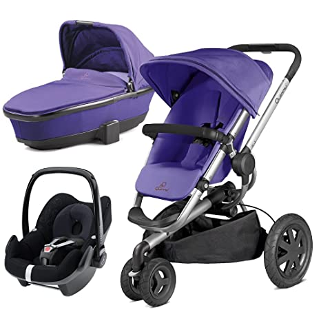 Quinny Buzz Xtra – Carrito y Morado ritmo con Pebble Purple/Black