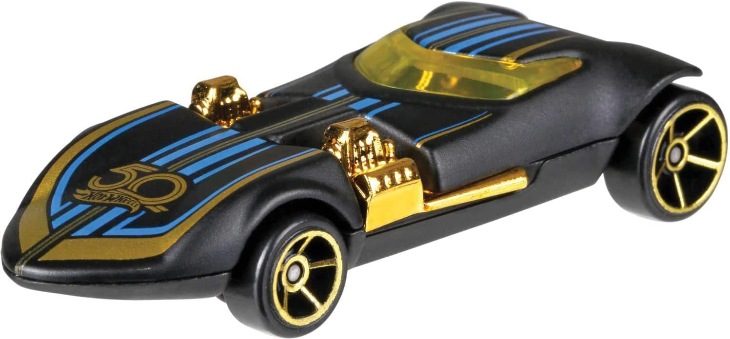 Hot Wheels Mattel FRN33, Vehículo Básico 50 Aniversario, Coche de ...
