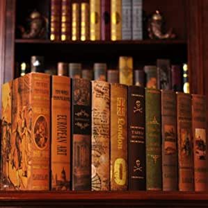 SQBB Libro Decorativo Exhibición de Libros Libro de