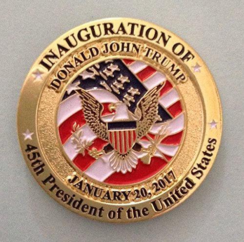 Donald Trump 45th Presidential Inauguration Pin 2017
