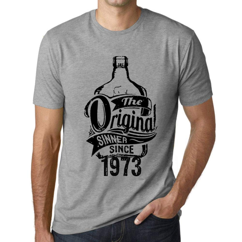 Hombre Camiseta Vintage T-Shirt Gráfico The Original Sinner ...