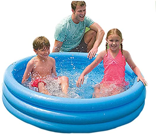 Ryg Piscinas para niños Bañera Inflable, bañera Plegable Piscina Infantil Piscina Familiar Piscina Jardin (Color : A): Amazon.es: Hogar