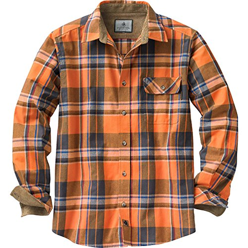 Fleece lined flannel shirt for men for Big and tall lined flannel shirts