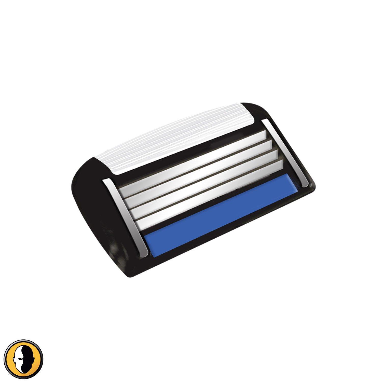 HeadBlade HB4 FourBlade Shaving Cartridges (4 Blades)
