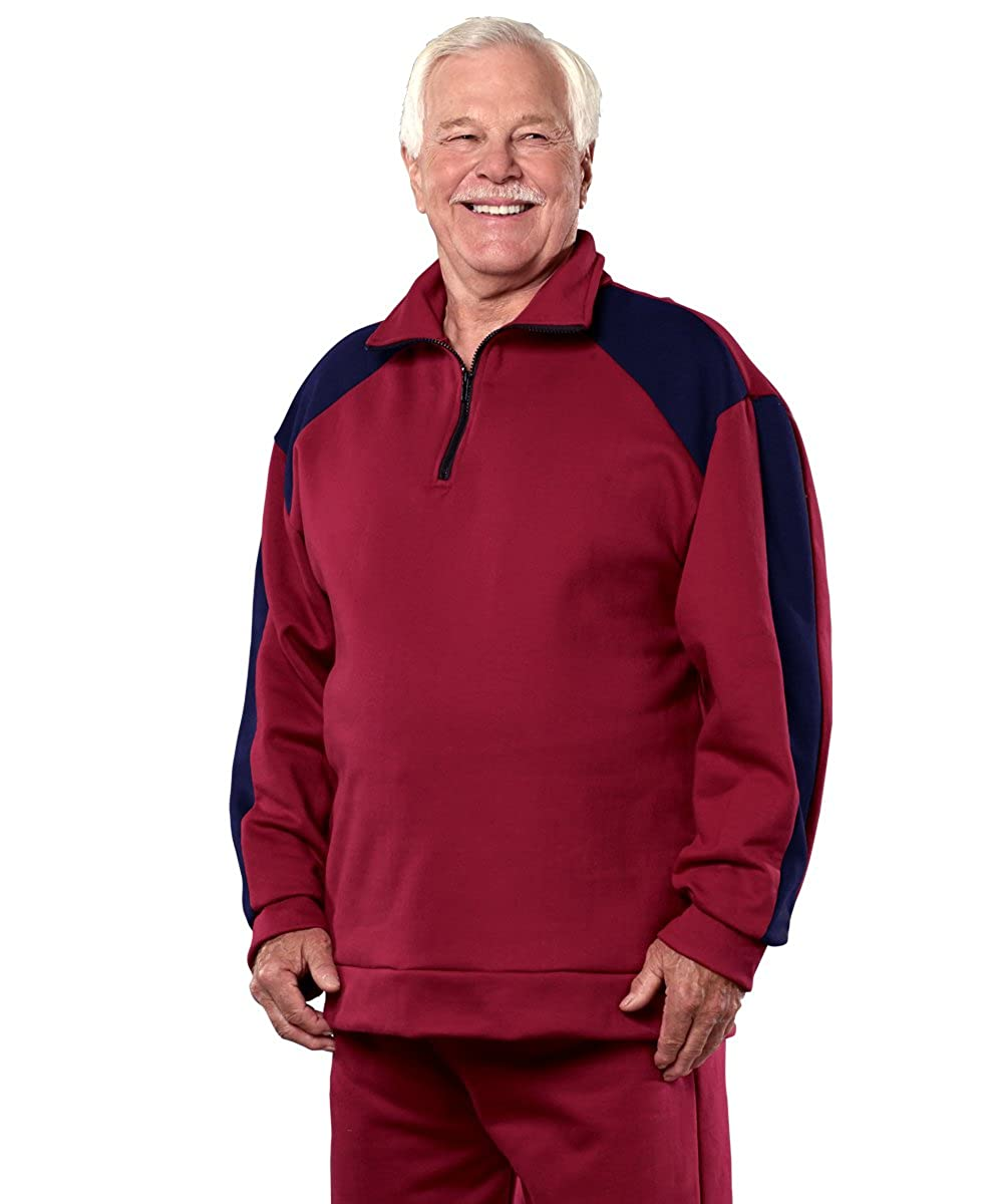 Silverts Disabled Elderly Needs Fleece Tracksuit/Sweatsuit For Men Silvert' s 50530