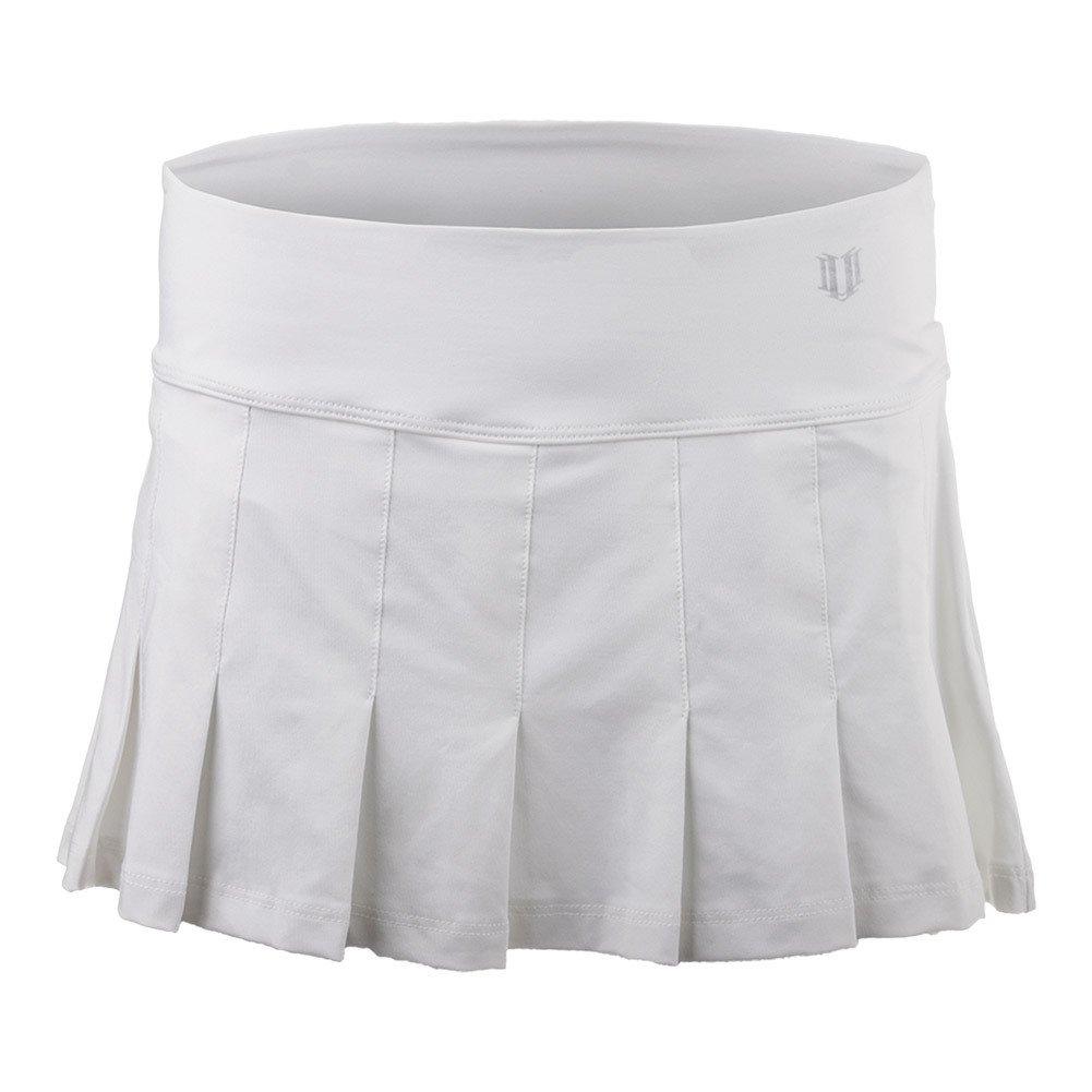 Eleven by Venus Williams Women's Core 12'' Flutter Skirt White X-Small