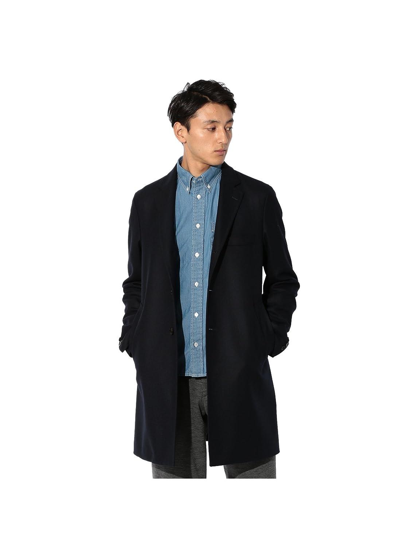 (サンヨー) SANYO 【Rain Wool】梳毛へリンボンチェスターコート P1B71610_ B0787V458T M ネイビー(29) ネイビー(29) M