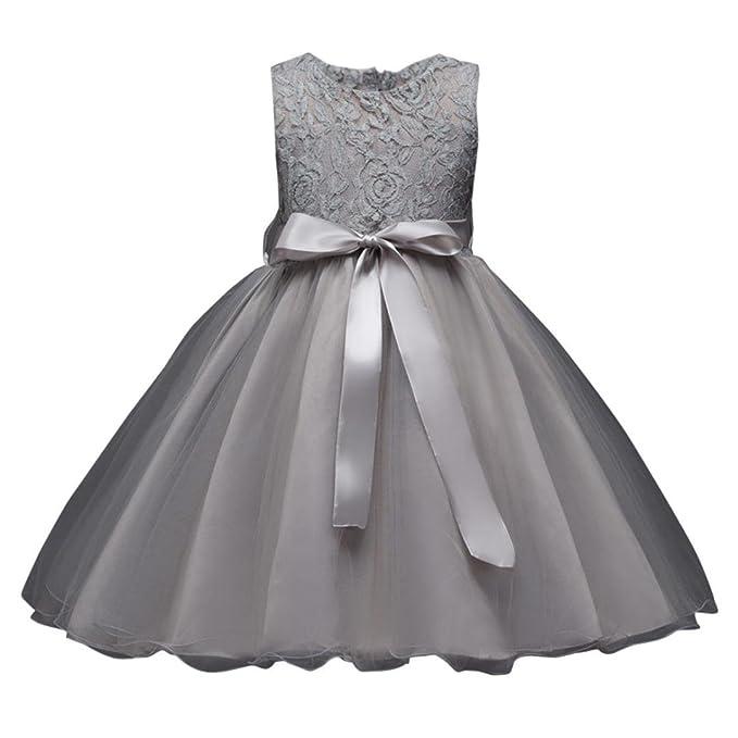 KidsTeen Girls Wedding Flower Girl Dress Floral Party Pageant Formal Long Dress