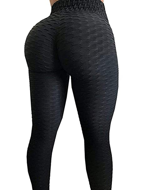 0acbd6df9691f Amazon.com: GAFASTWO Womens Gym High Waist Yoga Pants Butt Lifting Workout  Running Tummy Control Yoga Leggings: Clothing