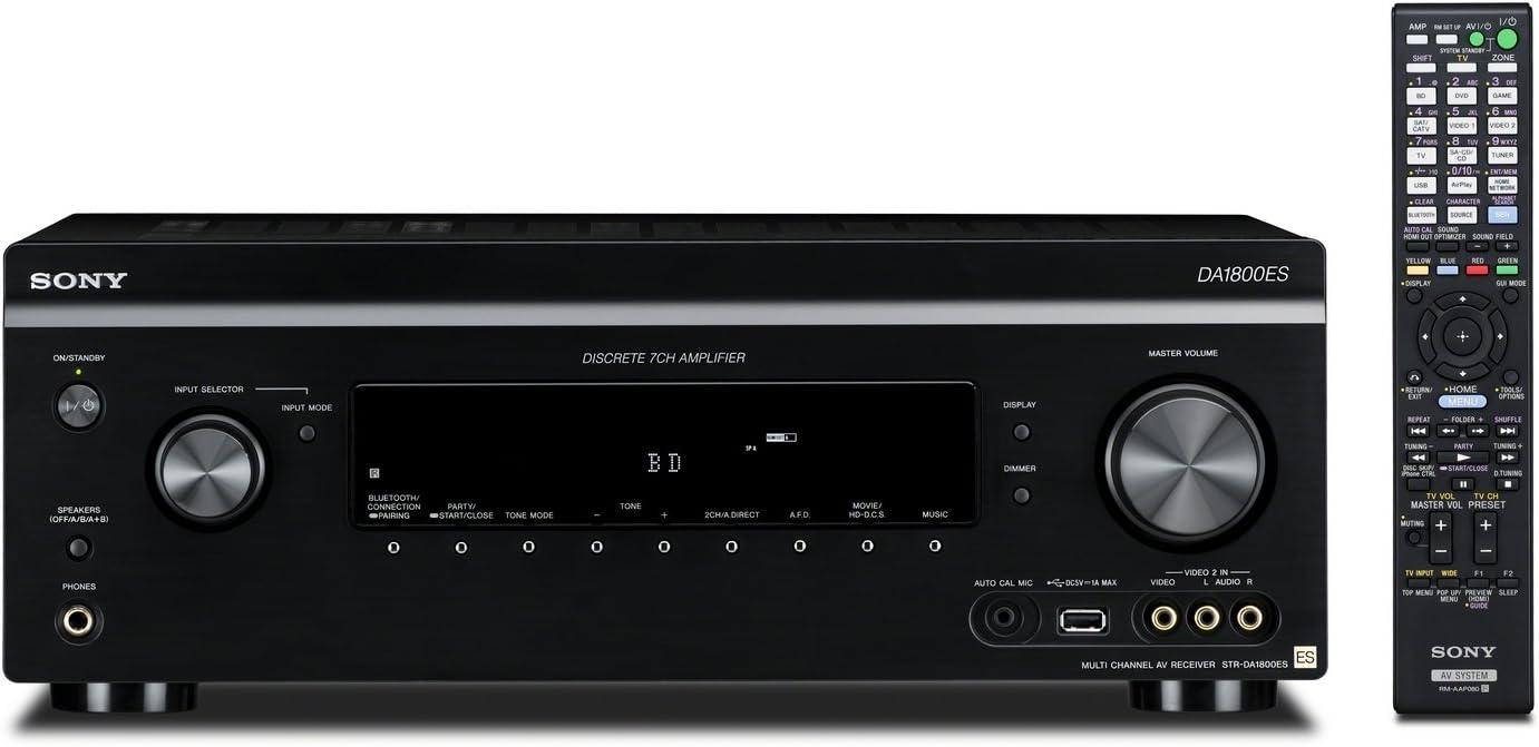 Sony STR-DA1800ES 7.2 Channel Wi-Fi Receiver with AirPlay and Bluetooth