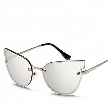 Gafas de Gafas de Gafas Reflexivas para Gatos , Blanco Plateado: Amazon.es: Deportes y aire libre