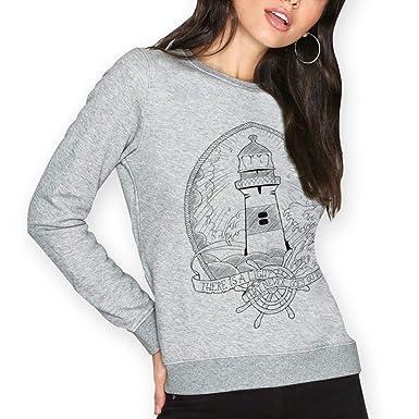 VIENTO Lighthouse Damen Sweatshirt  Amazon.de  Bekleidung 0567e8a1f5