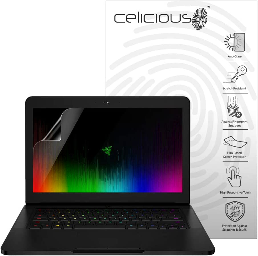 Non-Touch Celicious Matte Anti-Glare Screen Protector Film Compatible with Razer Blade 15 2018 Pack of 2