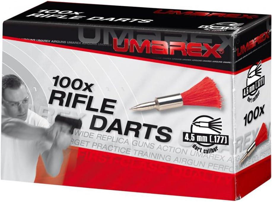 Umarex - Pernos de Muelle para Airsoft (100 Disparos, 4,5 mm), Color Negro