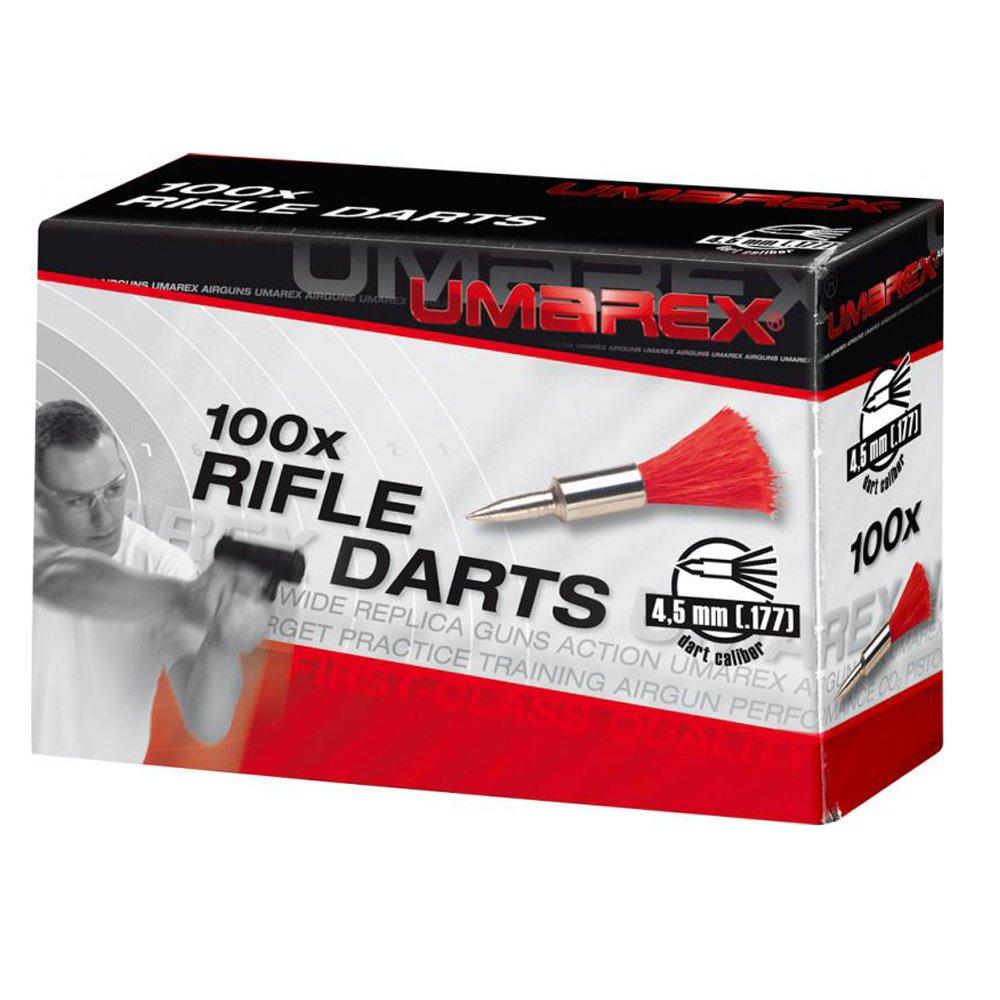 Umarex – Dardos para pistola de aire comprimido (calibre 4,5 mm, 100 unidades) (100 unidades, largo del 9) UMARV|#Umarex 4.1650