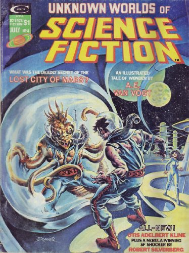 Unknown Worlds of Science Fiction - July 1975 (Vol. 1, #4)