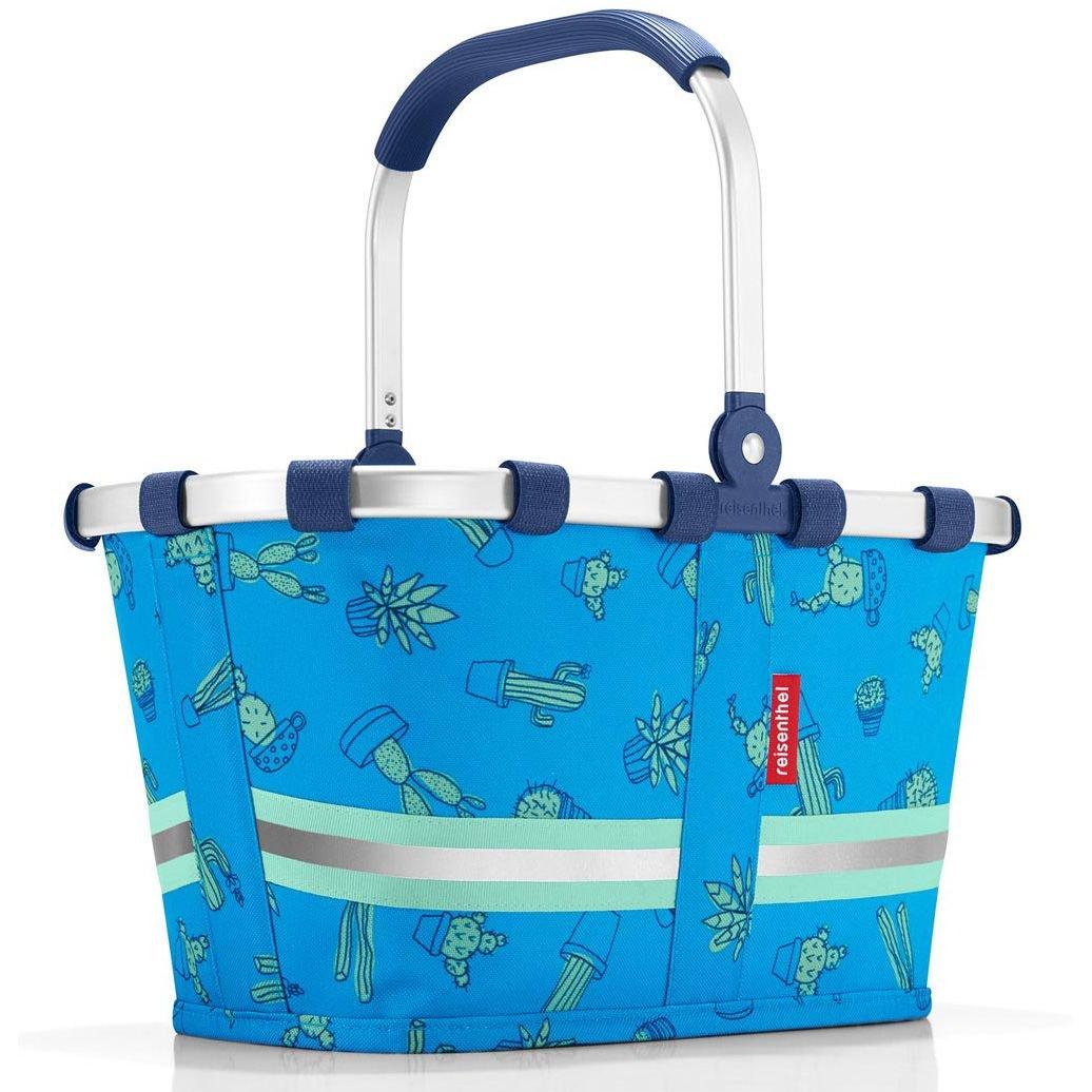 Reisenthel IA4049 Carrybag XS Kids klappbarer Kinder-Einkaufskorb 5 L, Polyester, blau, 19,5 x 33,5 x 18 cm