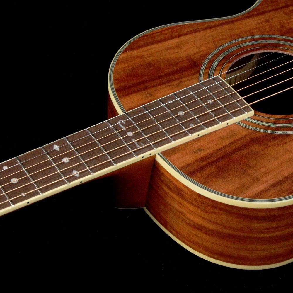 Washburn WP55NS Koa Parlor Guitar Natural by Washburn