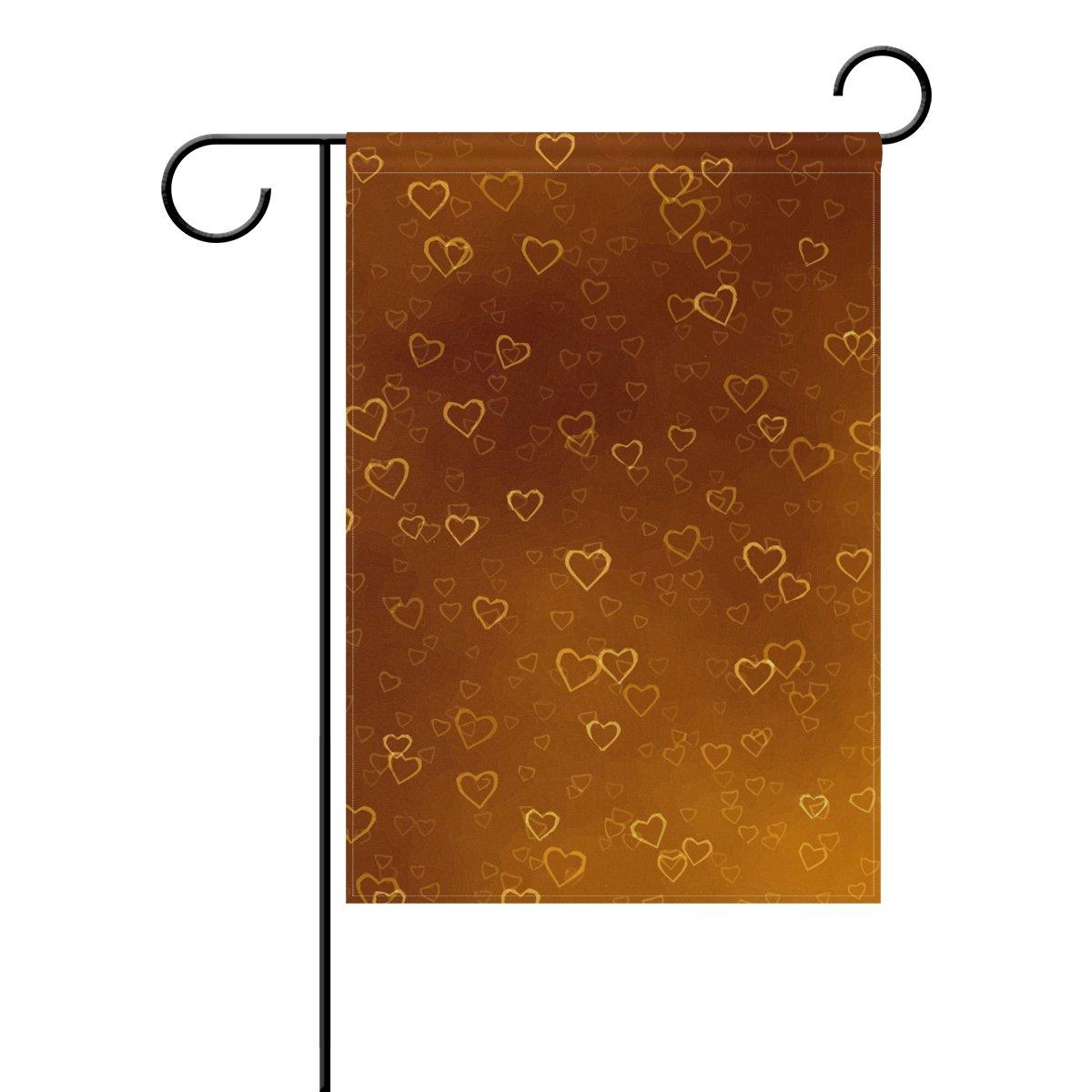 Amazon.com : LEISISI Flamingo Decorative Double Sided Garden Flag ...