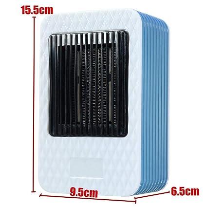 SJHUO 220V AC 500W Mini Calentador de Aire eléctrico Potente soplador de Calor Calentador rápido portátil