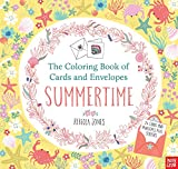 The Coloring Book of Cards and Envelopes: Summertime
