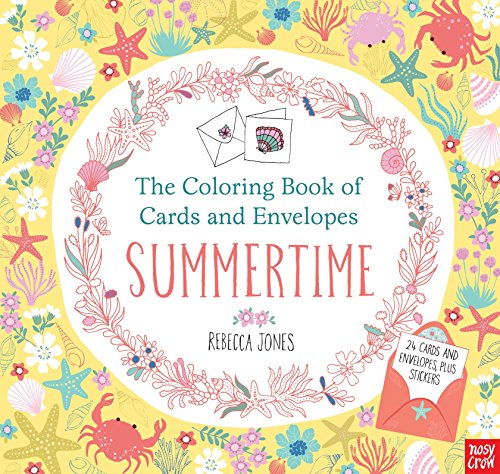 The Coloring Book of Cards and Envelopes: Summertime (Best Way To Send Gifts To India)