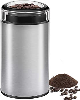 Cusinaid Coffee Electric Spice Grinder with Transparent Lid