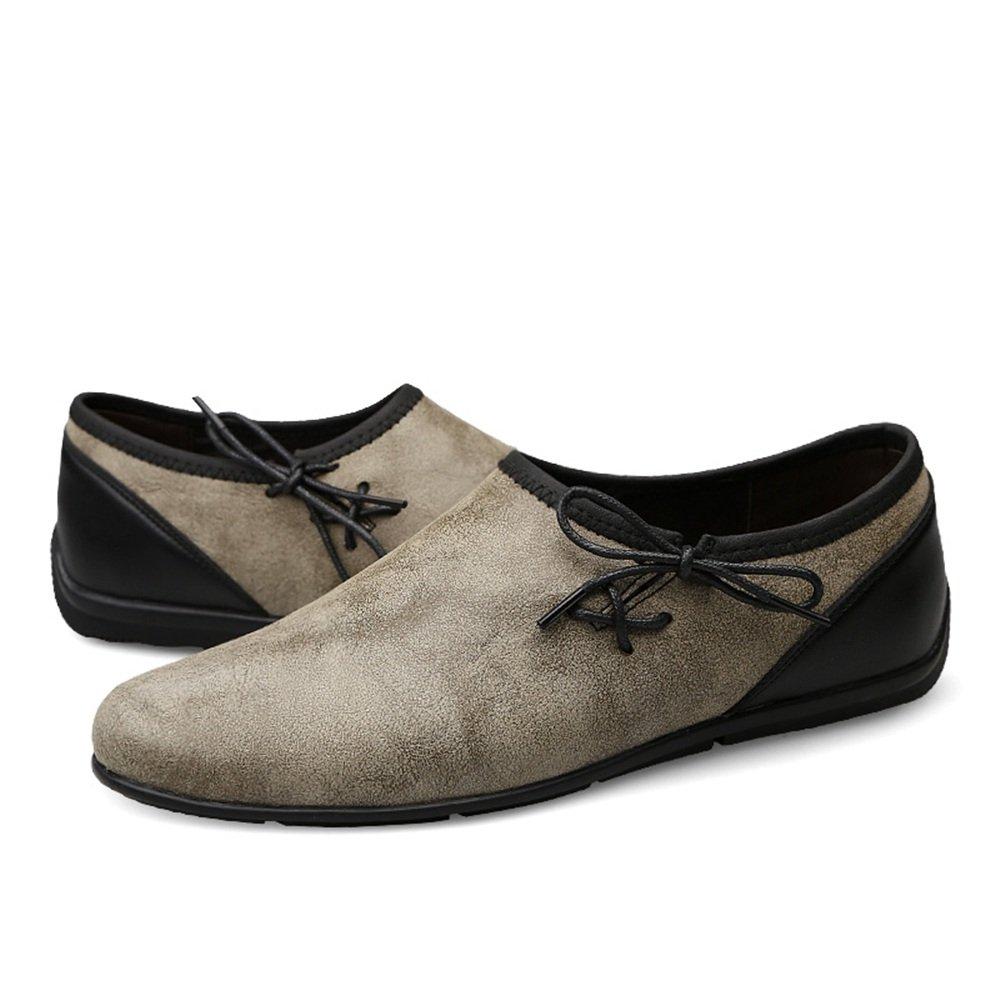 d5e6efb2 Jiuyue-shoes Hombres Casual Drive Mocasines Personalidad Tendencia Pequeños  Zapatos sucios Restaurar Formas Antiguas Mocasines
