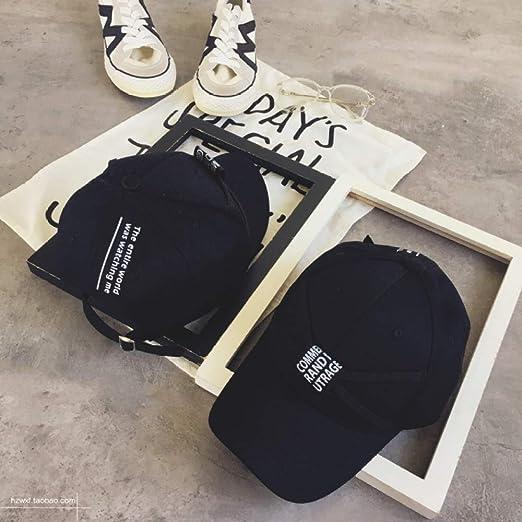 sdssup Gorra de béisbol Negro Tapas curvadas oporto Viento Hip Hop ...