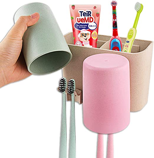 Details about  /Toothbrush Holder Case Cover Washing Cup Storage Box Travel Bathroom Organizer