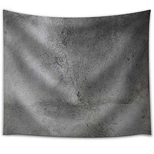 wall26 - Gray Wall Background, Concrete Texture - Fabric Wall Tapestry Home Decor - 68x80 inches
