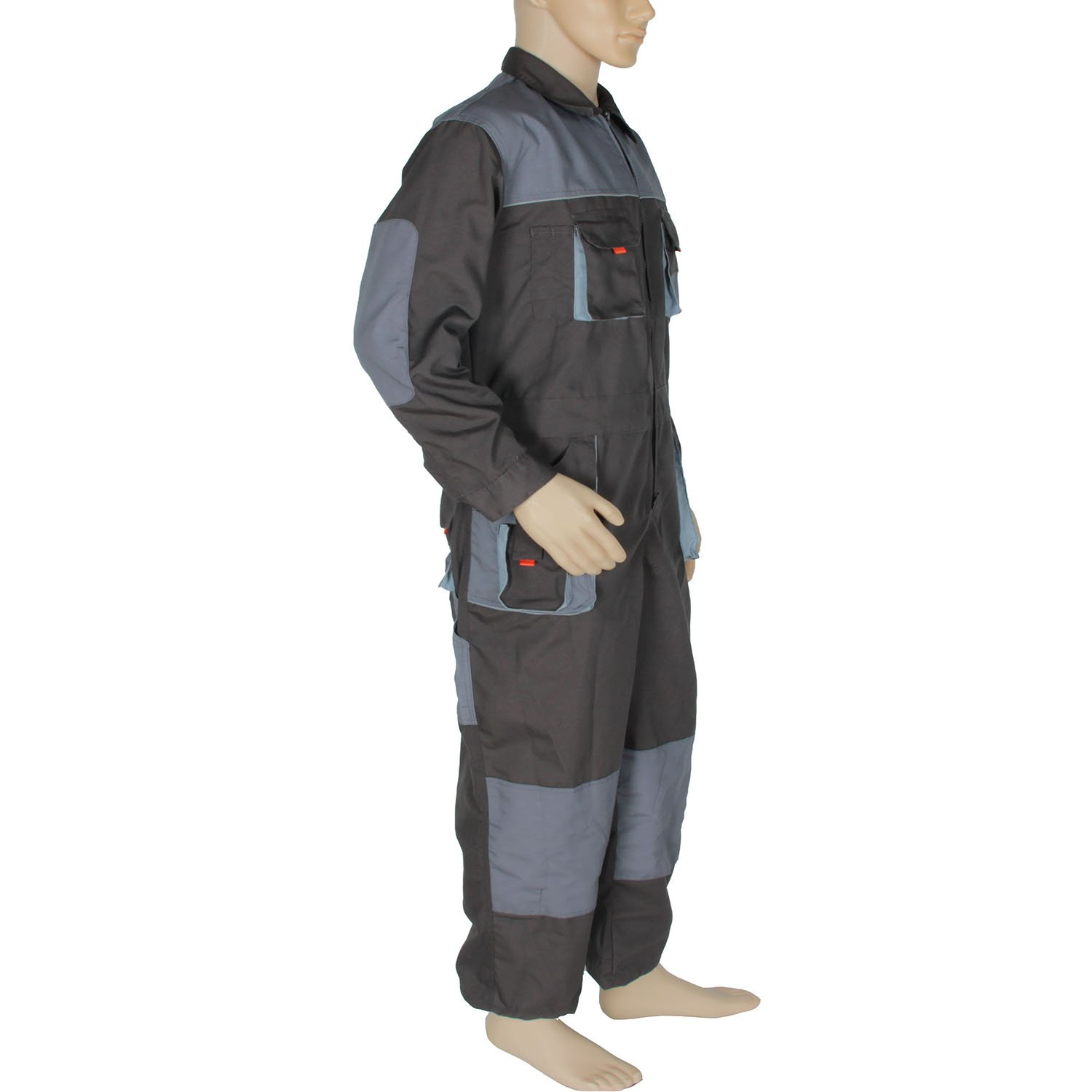 Aolamegs Men's and Women's Long Sleeve Coveralls for Worker Repairman Machine Auto Repair Electric Welding Work Clothing US S by Aolamegs (Image #3)
