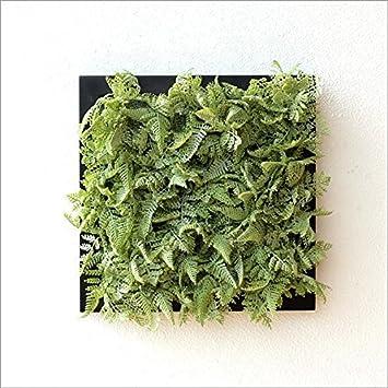 フェイクグリーン 人口観葉植物 壁飾り ウォールデコレーショングリーン B [sik7131]