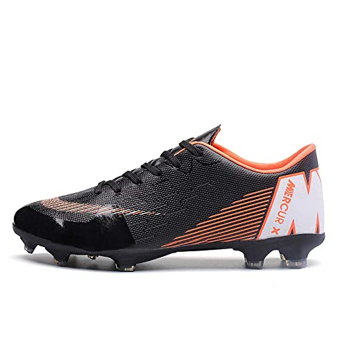 REBEST Men s Football Boots Adult Low Top Soccer Shoes Professional Spike  Training Shoes Outdoor Sneakers Teenagers ca9aa0cbe