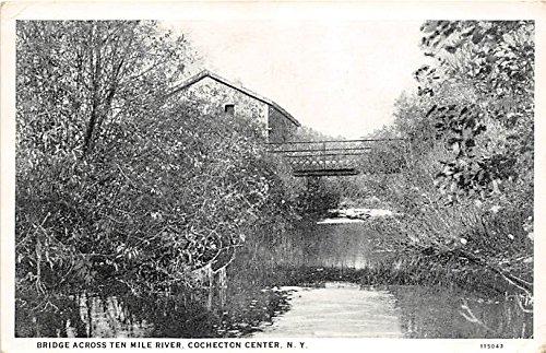 (Bridge across Ten Mile River Cochecton Center, New York, Postcard)