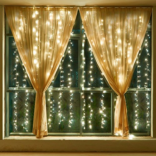 Outdoor Solar Curtain Lights