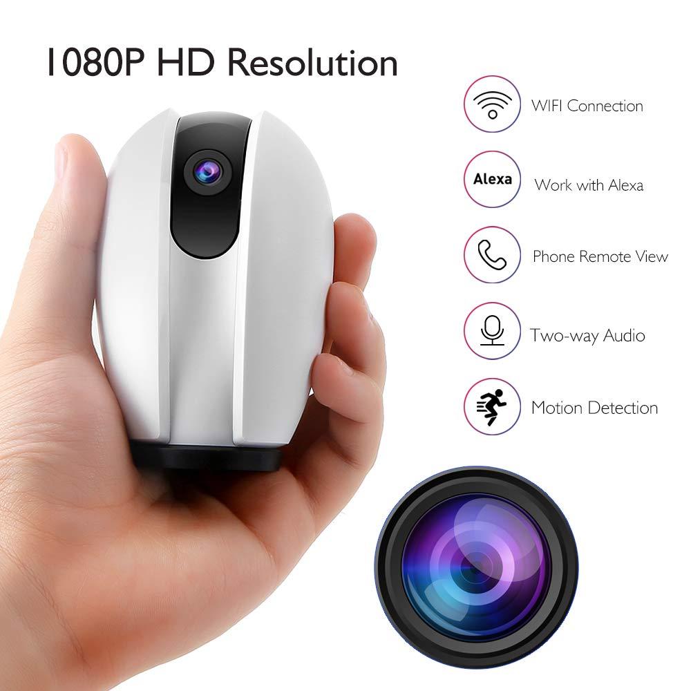 akaso p30  AKASO WiFi Camera 1080P, Work with Alexa Google Home Fire TV Home ...